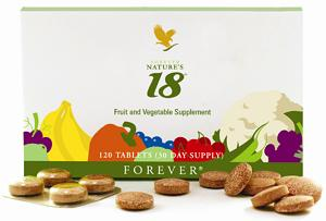 Forever Nature's 18 – Aloe Vera (Forever Living Products).