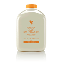 Forever Aloe Bits n' Peaches – (Forever Living Products)